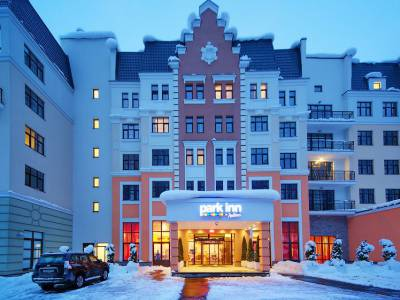 Park Inn by Radisson Rosa Khutor Отель фасад