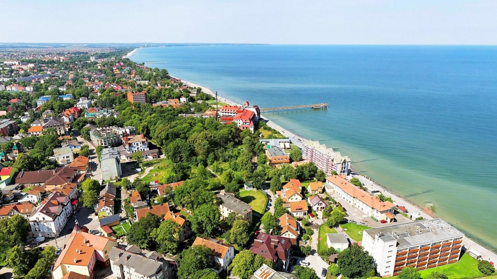 зеленоградск фото города представителями
