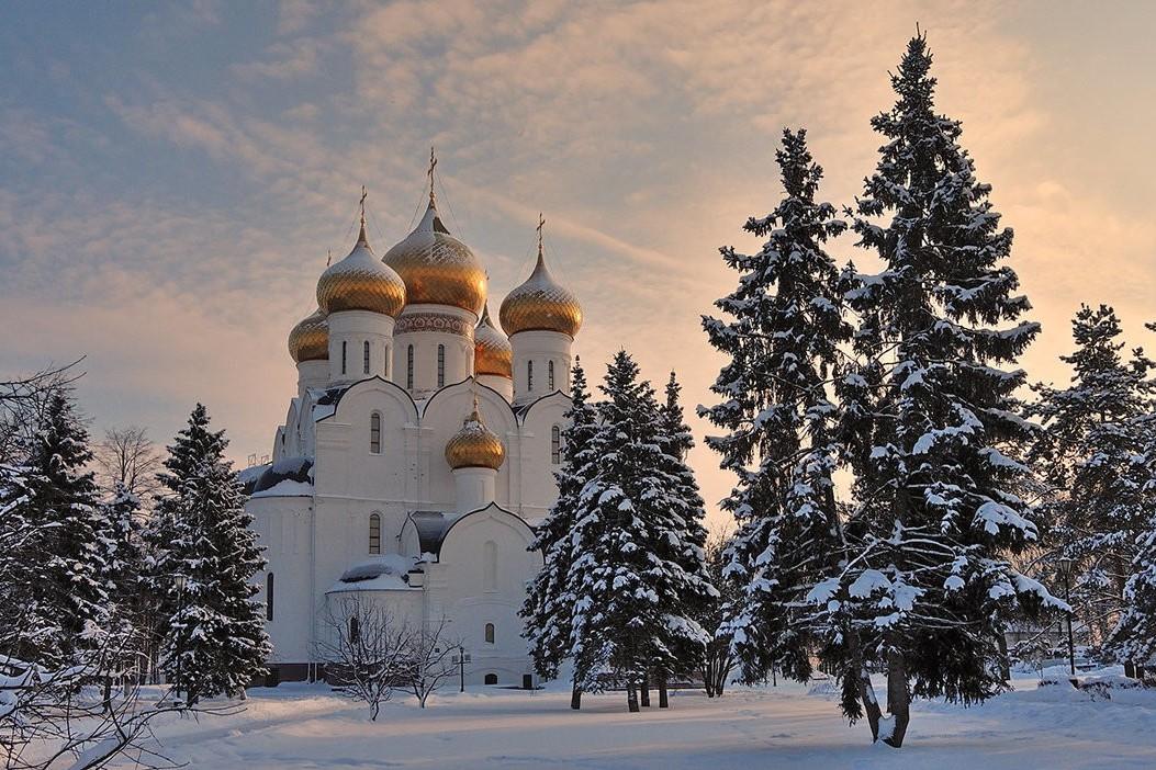 Зимние фото ярославль
