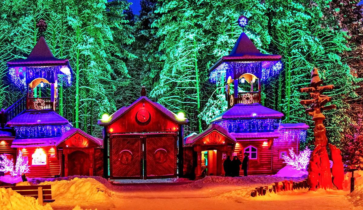 Картинки великий устюг дом деда мороза для детей