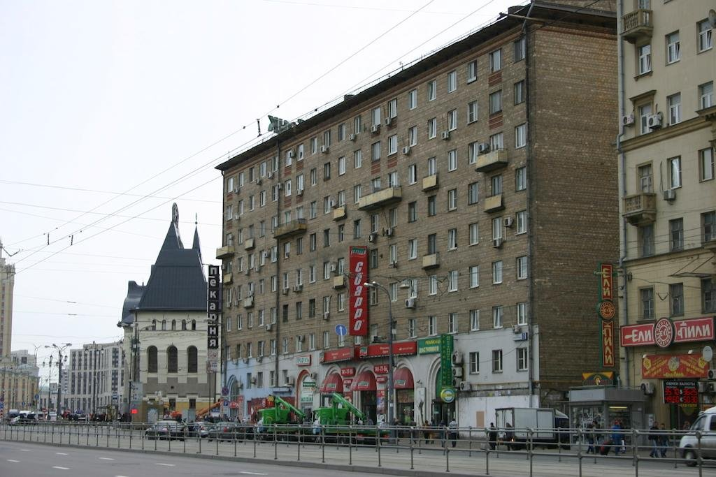 Краснопрудная улица москва фото