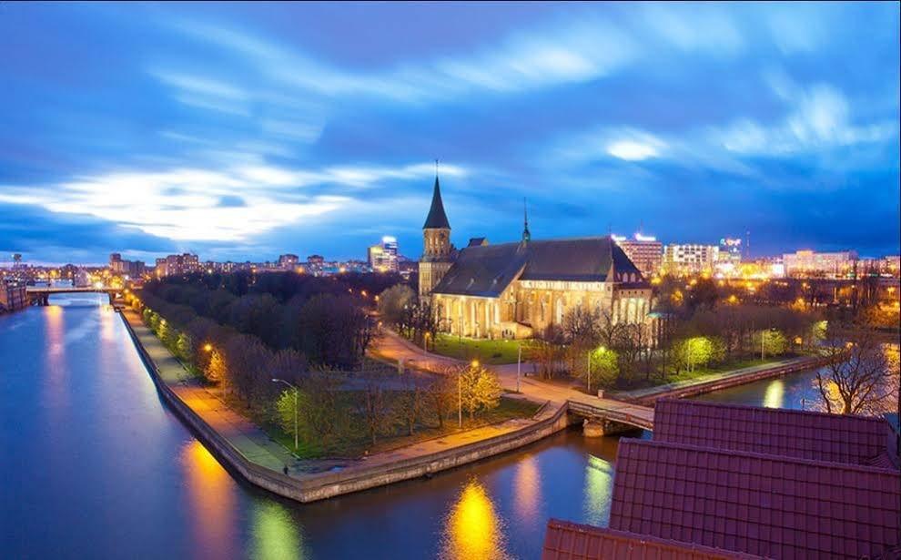 красивые фотографии города калининграда сочетание элементов