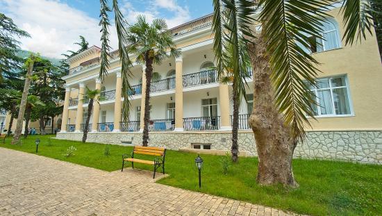 пансионат лазурный берег гагра абхазия официальный сайт