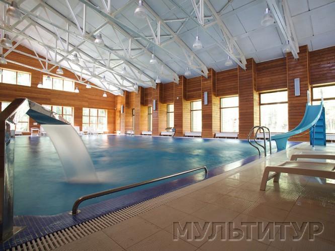 Эко-отель Романов лес, бассейн