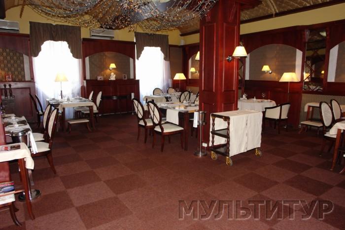 Фото отель Русь, ресторан.