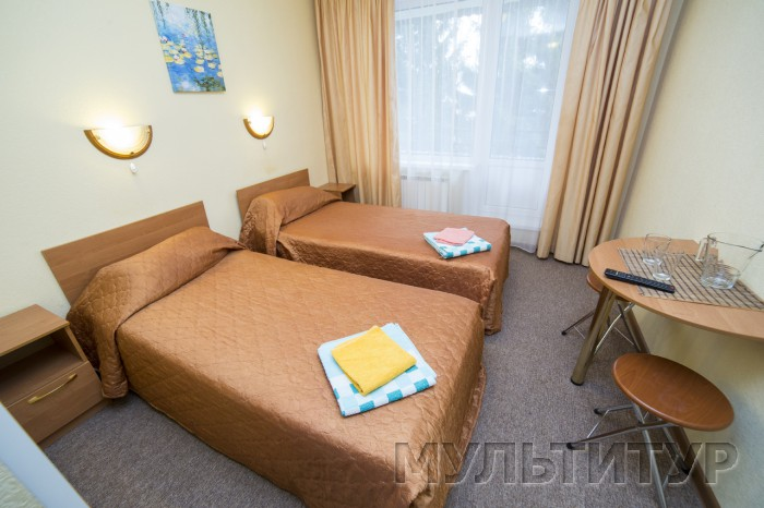 санаторий Лунёво на Волге, 2-х местный 2-х комнатный люкс евро