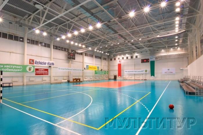 Фото, центр отдыха Горизонт, спортивный зал.