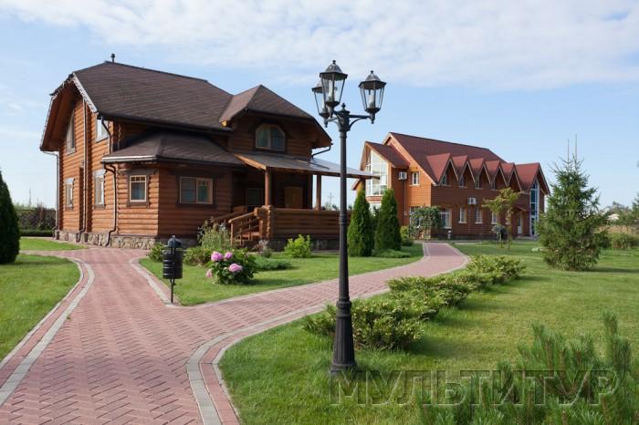 загородный отель Семигорье, коттедж, ресепшн