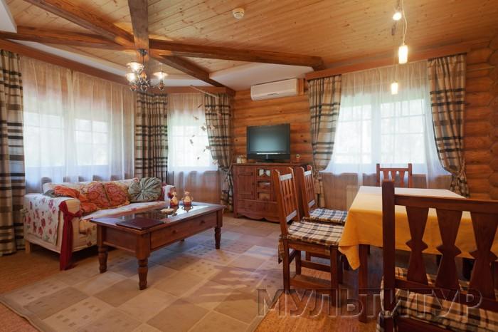загородный отель Семигорье, гостиная в апартаментах