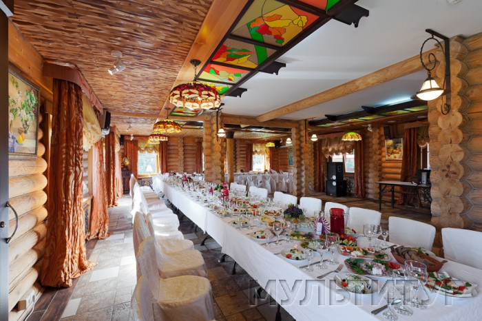 загородный отель Семигорье, ресторан, средний зал