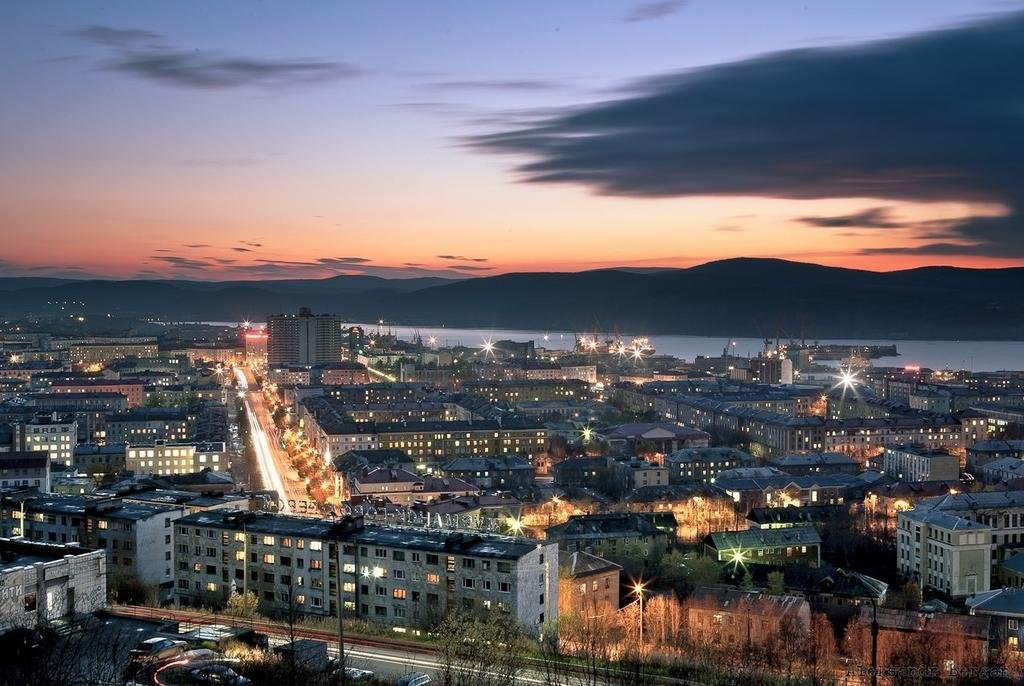 Мурманск фото города говорит