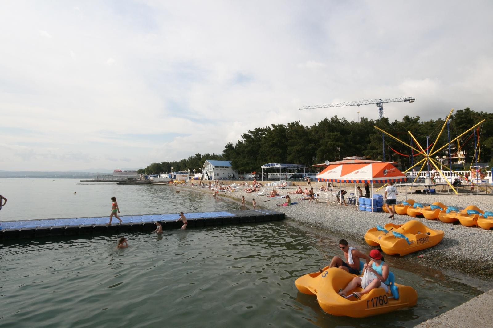 пляж приморье геленджик фото