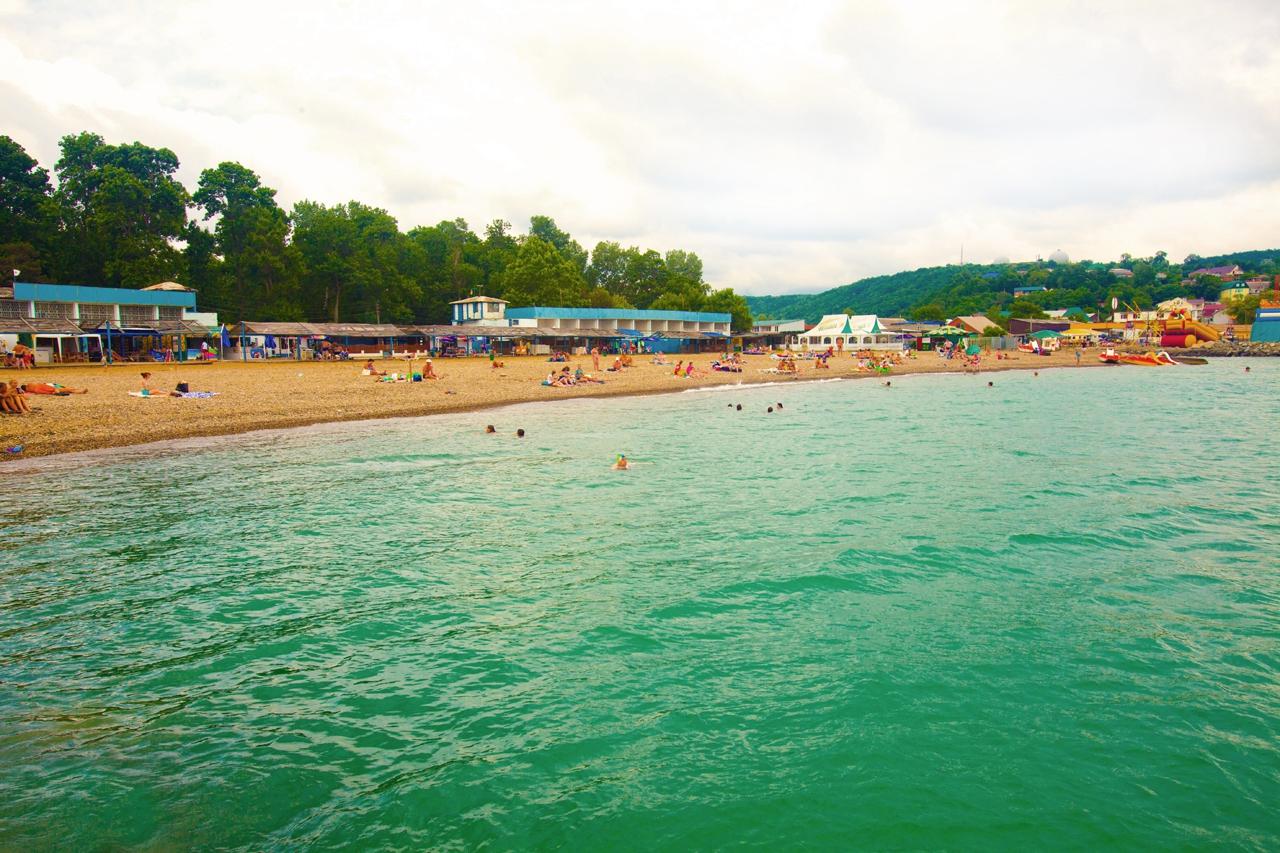 Джубга фото пляжей и поселками