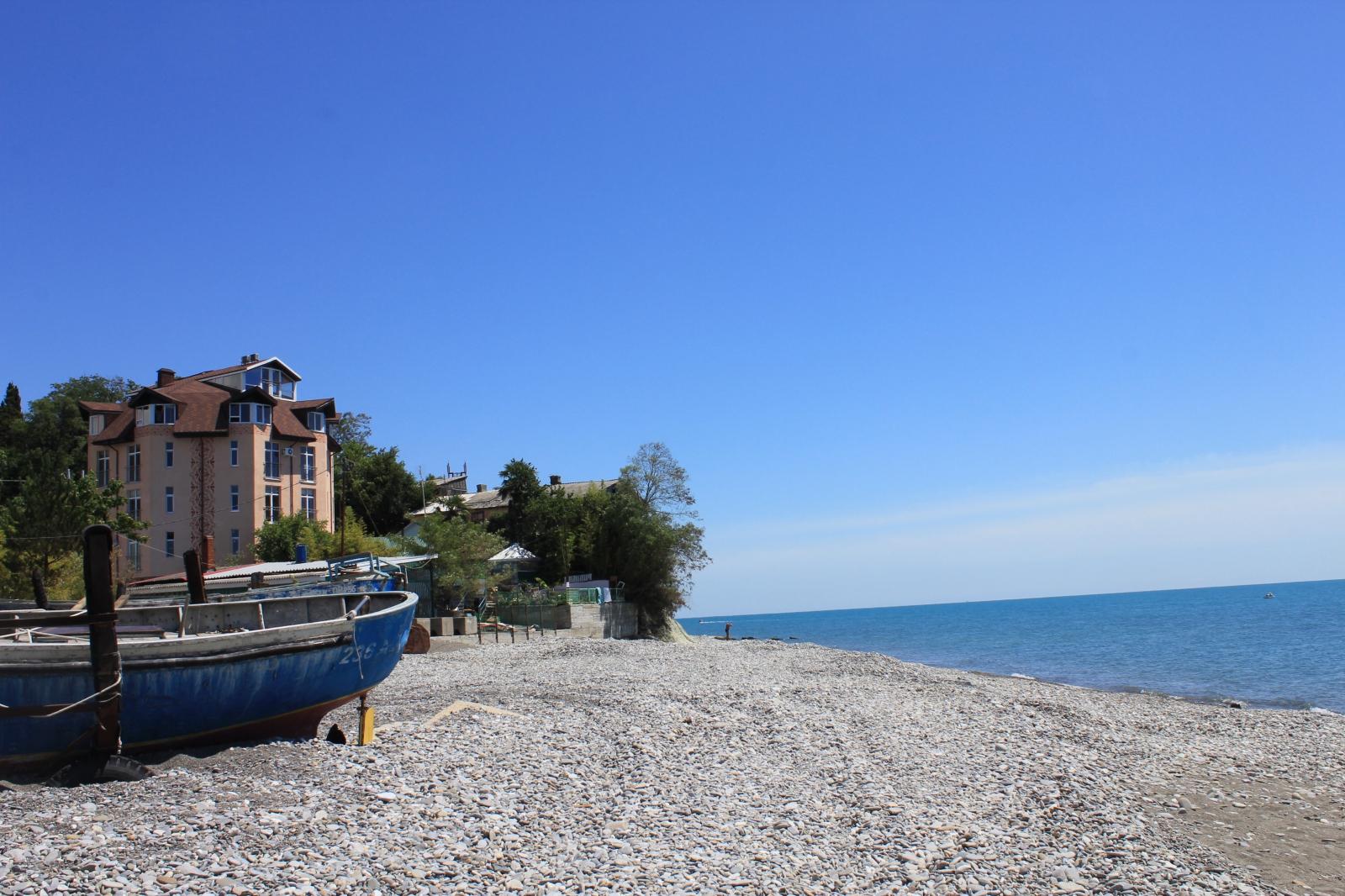 Фото пляжа от пансионата головинка