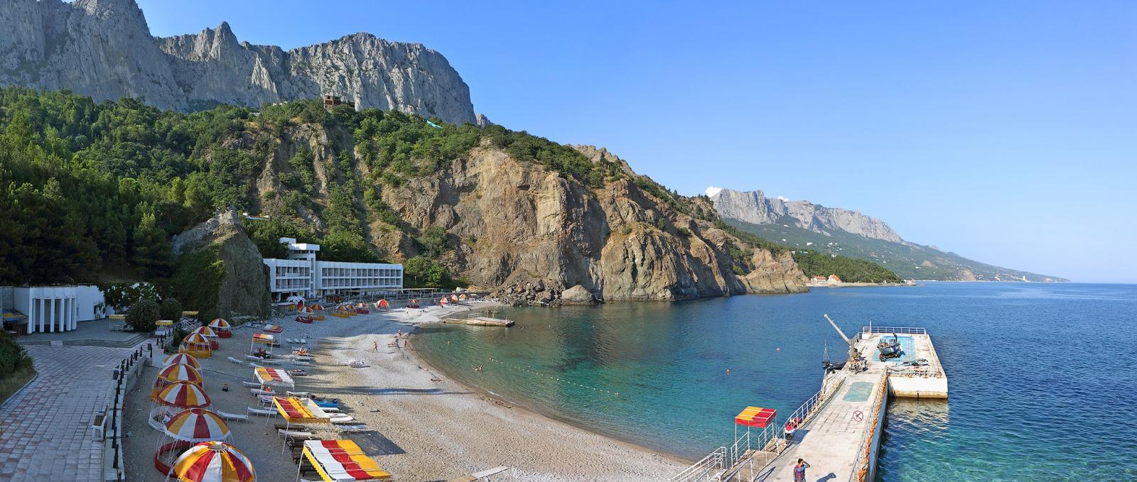 Крым 2018 фото пляжа